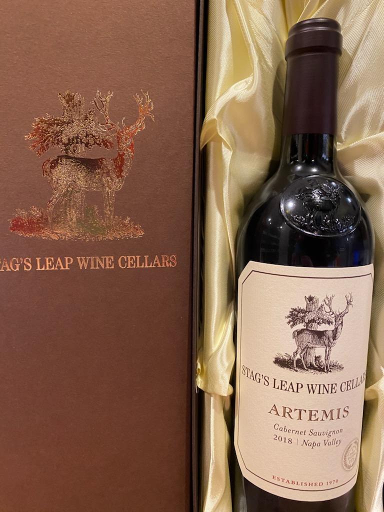 スタッグス・リープ ワイン・セラーズ アルテミス カベルネ・ソーヴィニヨン 箱付き