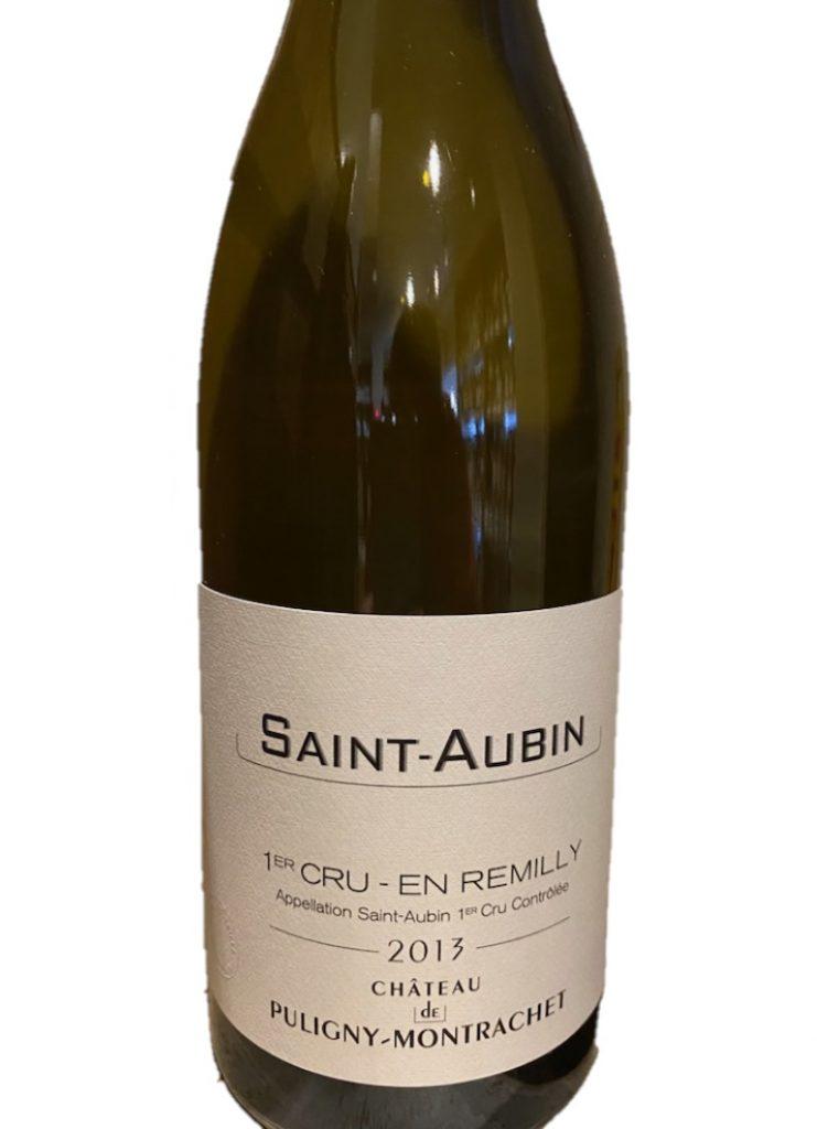白ワイン Ch ド・ピュリニー・モンラッシェ サン・トーバン 1er アン・ルミリ